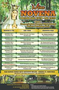 Novena Gua Bunda Maria Ratu Besokor