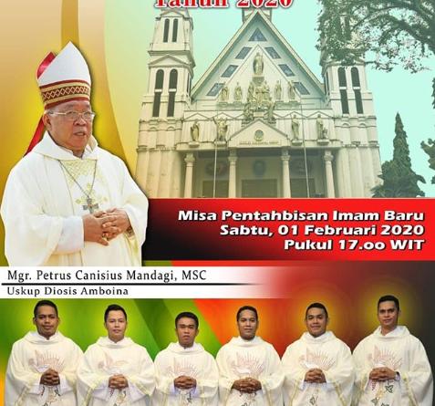 Tahbisan Imam Keuskupan Amboina