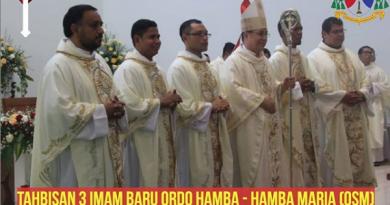 Tahbisan Imam OSM di Keuskupan Malang