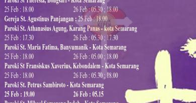 Rabu Abu Kevikepan Semarang 1