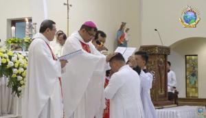 Tahbisan Diakon Keuskupan Padang