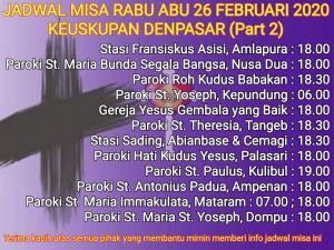 Rabu Abu Denpasar2