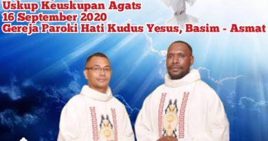 Tahbisan Imam Keuskupan Agats