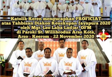 Foto Tahbisan Diakon Keuskupan Jayapura 2020