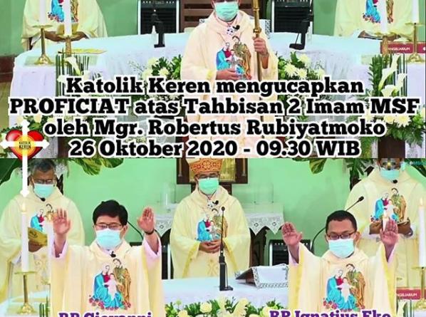Tahbisan Imam MSF 2020