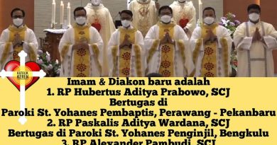 Tahbisan Imam Diakon SCJ 2021