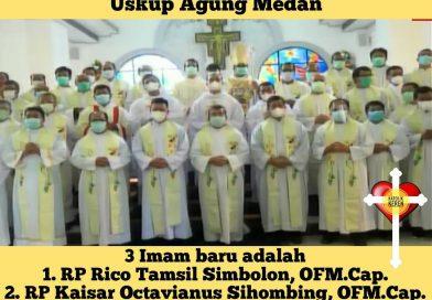 Tahbisan Imam Kapusin 2021