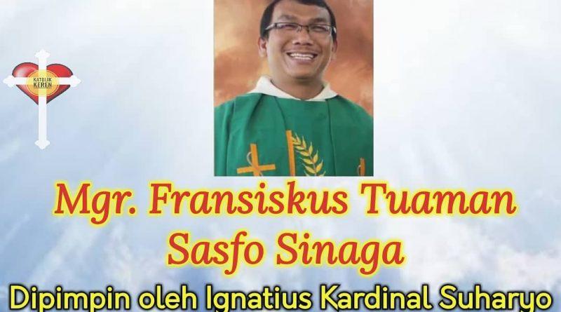 Tahbisan Uskup Sibolga 2021
