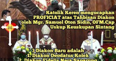 Tahbisan Diakon Keuskupan Sintang 2021