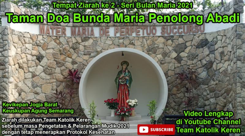 Taman Doa Maria Penolong Abadi Yogya