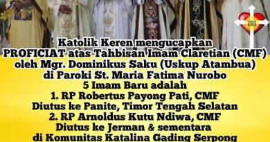 Tahbisan Imam CMF 2021