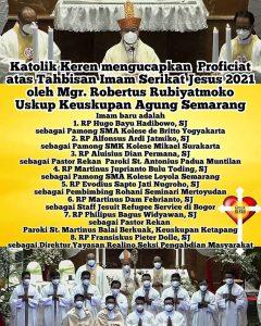 Tahbisan Imam SJ 2021