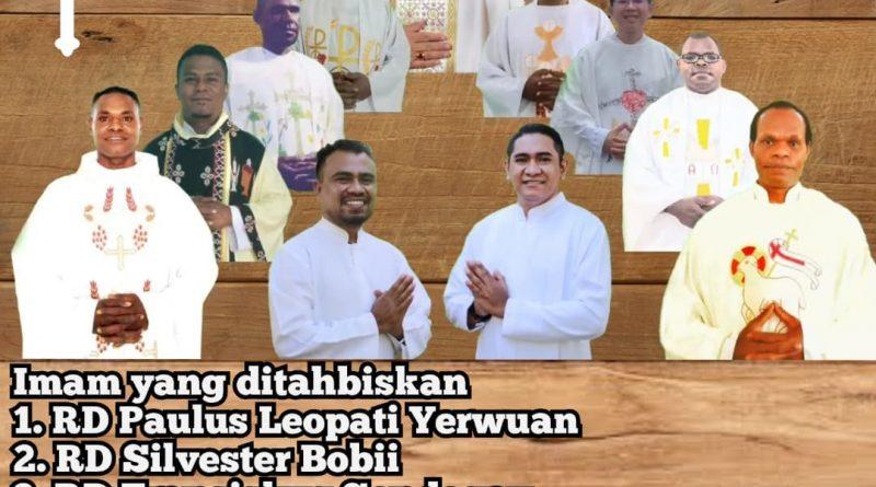 Tahbisan Imam & Diakon Keuskupan Timika