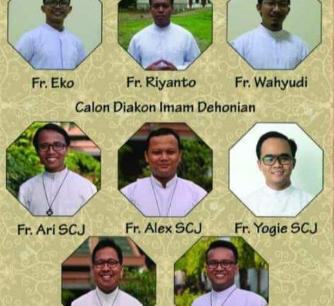 Tahbisan Diakonat Keuskupan Agung Palembang