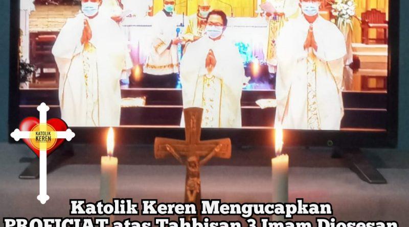Tahbisan Imam Keuskupan Agung Palembang