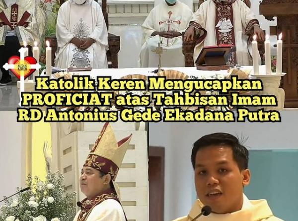 Tahbisan Imam Keuskupan Denpasar 2020