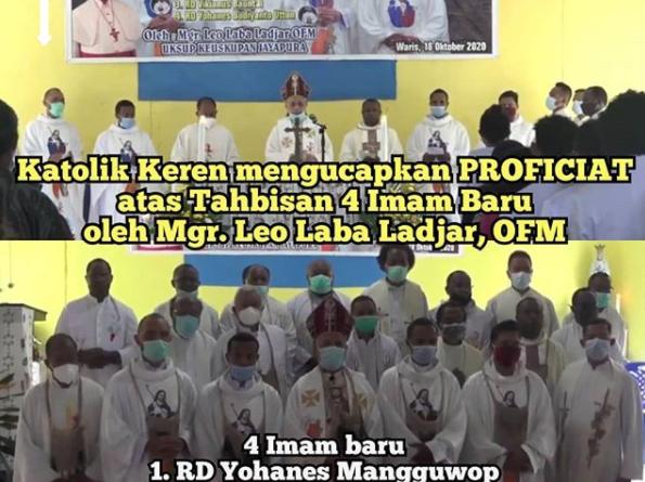 Tahbisan Imam Keuskupan Jayapura