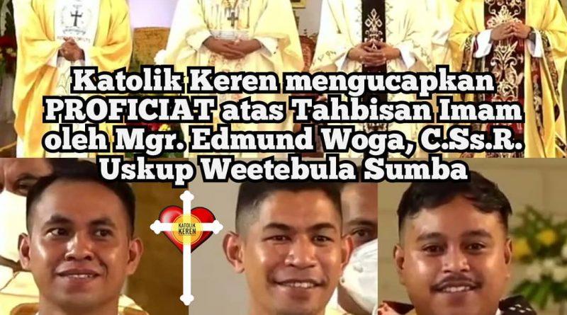 Tahbisan Imam Keuskupan Weetebula Sumba 2021