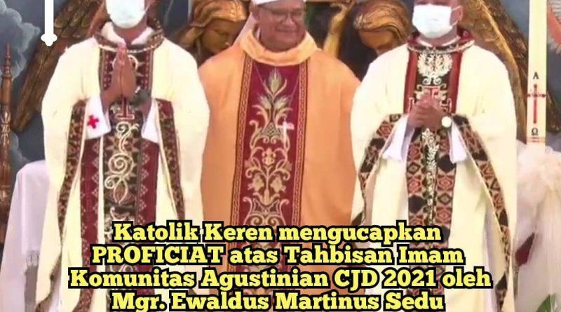 Tahbisan Imam CJD 2021