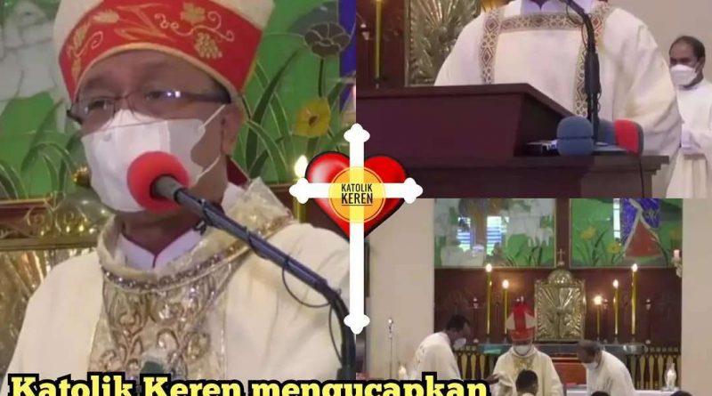 Tahbisan Diakon Keuskupan Pangkalpinang 2021